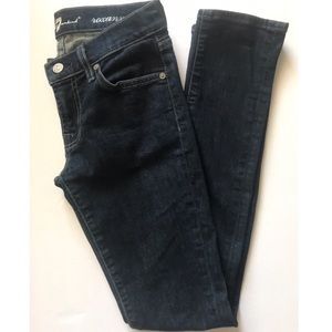 "7 for all Mankind ""Roxanne"" Skinny Jeans"